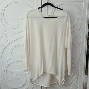 GUC Michael Kors Ivory Tunic Sweater - size XL